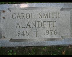 Carol <i>Smith</i> Alandete