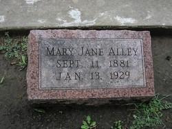 Mary Jane <i>Burwell</i> Alley