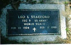 Leo Lorrain Stafford, Sr