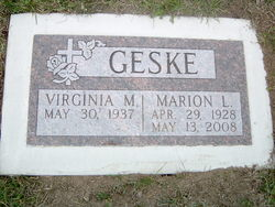 Marion L. Geske