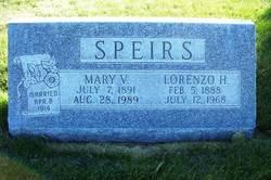 Mary Delilah <i>Van Orman</i> Speirs