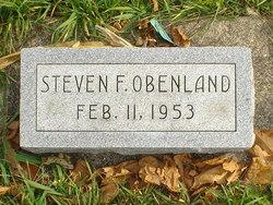 Steven F Obenland