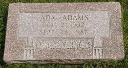 Ada <i>Adams</i> Bradford