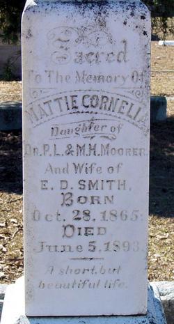 Mattie Cornelia <i>Moorer</i> Smith
