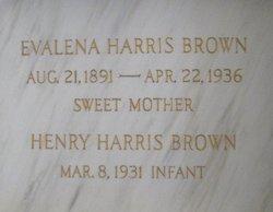 Evalena <i>Harris</i> Brown