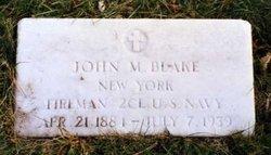John M Blake