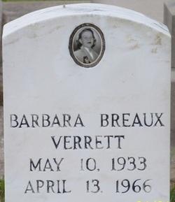 Barbara <i>Breaux</i> Verrett