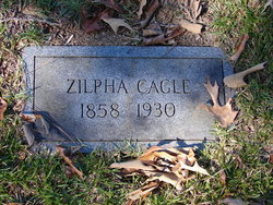 Zilpha C. Zylphy <i>Ayers</i> Cagle