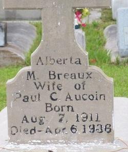Alberta M. <i>Breaux</i> Aucoin