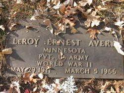 LeRoy Ernest Avery