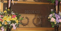 Doris <i>Waldron</i> Decorato