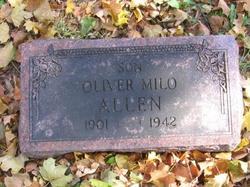 Oliver Milo Dutch Allen