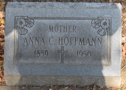 Anna Cecelia <i>Boehnlein</i> Hoffmann