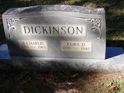 Cora Doretha <i>Walker</i> Dickinson