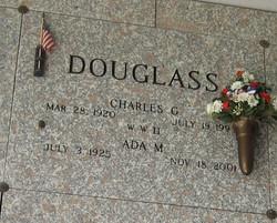 Charles G Douglass