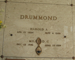 Mildred <i>Cooper</i> Drummond