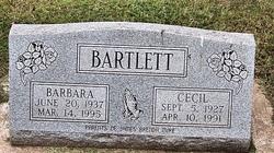 Cecil G Bartlett