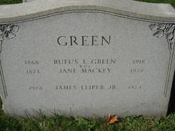 Jane <i>Mackey</i> Green