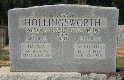 Augustus H Hollingsworth