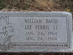 William David Lee Ferril, II