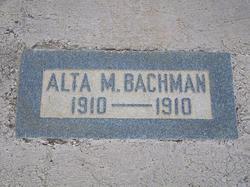Alta M. Bachman