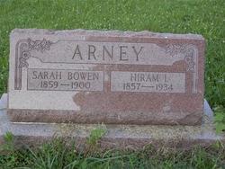 Sarah <i>Bowen</i> Arney