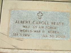 Maj Albert Caroll Beaty
