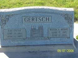 Maeda A. <i>Murri</i> Gertsch