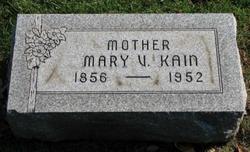 Mary Victoria <i>Brown</i> Kain