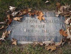 Katherine R. Schaaf