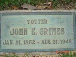 John E Grimes