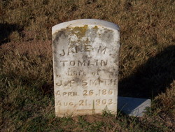 Jane Emaline <i>Tomlin</i> Smith