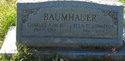 Ella E. <i>Johnston</i> Baumhauer