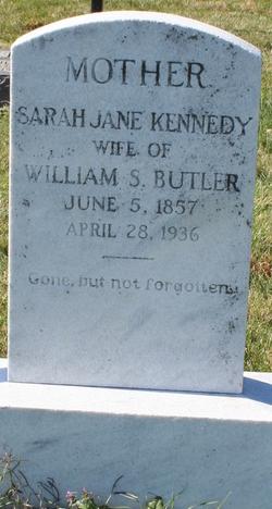 Sarah Jane <i>Kennedy</i> Butler