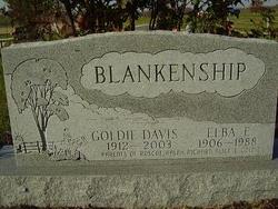 Goldie <i>Davis</i> Blankenship