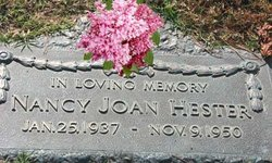 Nancy Joan Joanne Hester