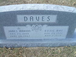 Rosie Mae Tom <i>Beal</i> Daves