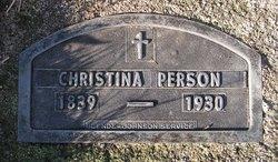 Christina Louisa Person