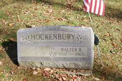 Walter B Hockenbury