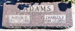 Miriam Thelma Meem <i>Salmon</i> Adams