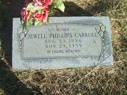 Jewel <i>Phillips</i> Carroll