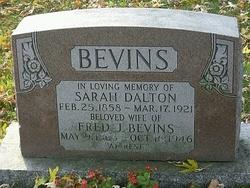 Fred J Bevins