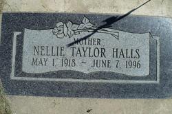 Nellie <i>Taylor</i> Halls