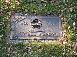 Lowell Vernon Brown