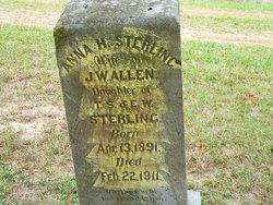 Anna H. <i>Sterling</i> Allen