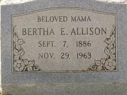 Bertha Elmira <i>Bell</i> Allison