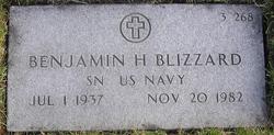 Benjamin H Blizzard