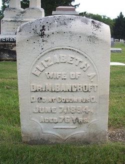 Elizabeth A. <i>Kelton</i> Bancroft