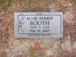 Allie Marie Booth
