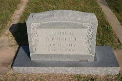 Ruthie C <i>Milton</i> Abbott